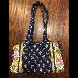 Vera Bradley Maison Blue Handbag Purse